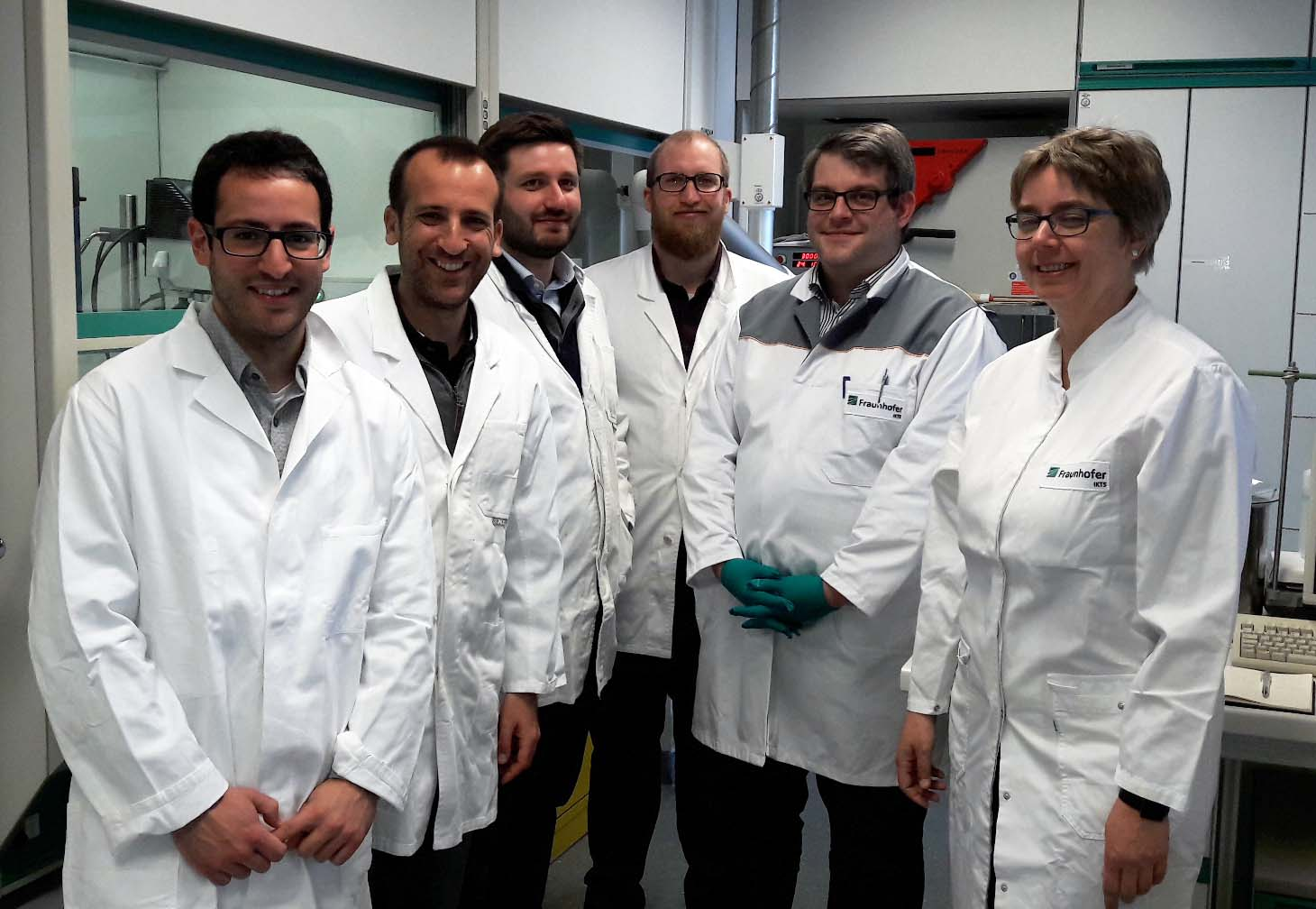 The team of the workshop